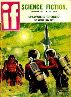 """if"" Science Fiction magazine 1961"