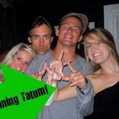 Channing Tatum representing KD!! <3 <3