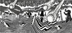 Stanley Donwood: Lost Angeles   ArtweekLA - Art Here Now