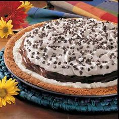 Chocolate Pudding Pizza