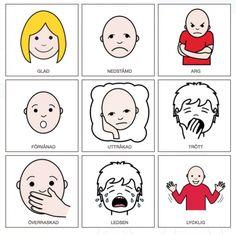Några uppgifter som handlar om känslor. En samtalskarta går att skriva ut här: kanslor-2 Klicka här för att skriva ut materialet: kanslor Bilderna kommer från Pixabay: fritt från cop…