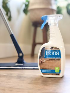 Our most powerful cleaner yet! Bona PowerPlus® Hardwood Floor Deep Cleaner has an oxygenated formula that loosens and removes heavy dirt build-up and stuck-on messes, providing a deep clean for your hardwood floors without the extra effort.