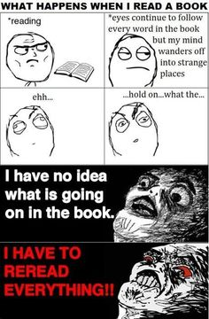 happens to me every time!
