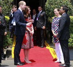 PHOTOS: Kate Middleton's sartorial journey through India and Bhutan | The Indian Express
