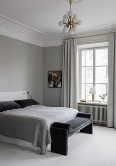 Bedroom. Home of interior designer Louise Liljencrantz
