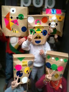 maskers maken met papieren zakken - Google Search