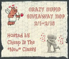 Happy Love Month + Crazy Cupid Giveaway!