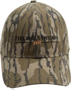 d3b6a3a8555be Field   Stream Men s Logo Camo Hat
