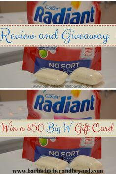 Radiant Return - Review and Giveaway, enter to win a $50 gift voucher from Big W!! #radiantreturn #washing Special Girl, Gift Vouchers, Giveaways, Barbie, Parenting, Big, Girls, Products, Toddler Girls