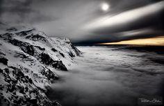 Overcast - Refuge des Cosmiques, Chamonix, France