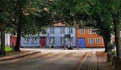 The Old Town in Fredrikstad, Norway. http://www.festningsbyen.no/