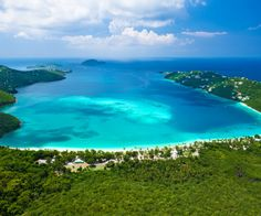 Beach Spotlight: Magens Bay, St. Thomas - USVI - Caribbean.Answers.com. #Caribbean #USVI #Beaches
