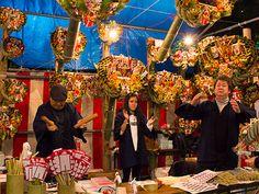 築地波除稲荷神社で「酉の市」 二の酉は「はしご酒」と同日