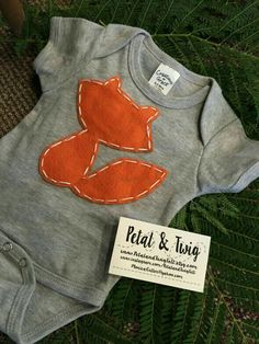 Fox onesie for Sydne Baby Boys, After Baby, Woodland Baby, Natural Baby, Baby Sleep, Baby Shower Themes, Baby Fever, Future Baby, Baby Boy Outfits
