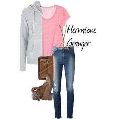 Hermione Granger - Harry Potter by ava-adams123 on Polyvore featuring Topshop, Moschino, Steve Madden, The Cambridge Satchel Company and harrypotter
