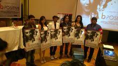 #bPositive #movie #press tour #Bollywood #India