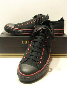 Goth Black & Red Ox