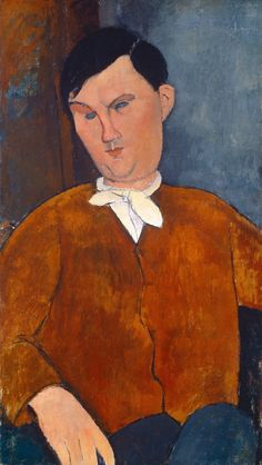 Monsieur Deleu / 1916 / oil on canvas / overall: 81.1 x 46.7 cm (31 15/16 x 18 3/8 in.) / framed: 90.8 x 55.5 cm (35 3/4 x 21 7/8 in.) / National Gallery of Art