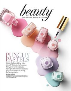 In many cases, you want your nails to complement the outfit that you are wearing. You should see these 8 Adorable Pastel Nail Ideas 2014 Trends, Foto Still, Minion Nails, Nagellack Design, Pastel Nail Polish, Foto Fashion, Cosmetic Design, Perfume, Spring Trends
