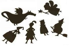 Printable Shadow Puppets | Munchkins and Mayhem
