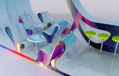 Karim Rashid - Concept for HP Heimstextil Exhibition, 2013