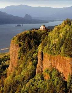Columbia Gorge. The drive to hood river from Portland Oregon is amazing!!! Take the scenic route :) by shana
