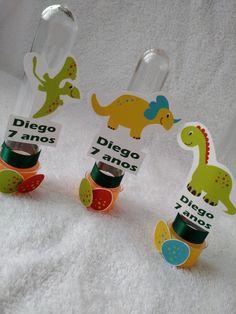 Tubete Personalizado Dinossauros! Lindos ! Rotulo (impressão) + fita. Fazemos de acordo com a sua arte. Entre em contato conosco!!