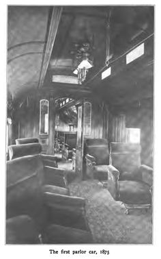 The First Pullman Parlor Car, c. Train Car, Train Travel, Pullman Train, Abandoned Train, Old Trains, Train Engines, Northern Michigan, Back In Time, Train Station