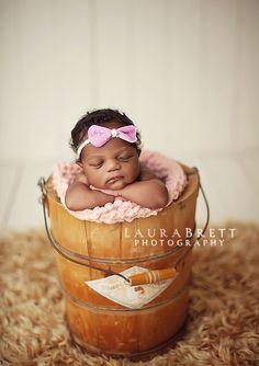 Cute idea for baby pics