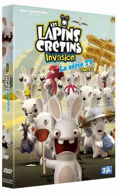 Goodies Les Lapins Crétins: DvD : Les Lapins Crétins : Invasion Partie 1