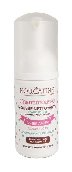 Doux Good - Nougatine - Chantimousse, mousse lavante à la barbe à papa pour les enfants