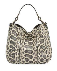 Bottega Veneta Loop Anaconda Hobo Bag – Purses And Handbags Totes Fashion Handbags, Tote Handbags, Purses And Handbags, Bags Online Shopping, Shopping Bag, Burberry Handbags, Burberry Bags, Cloth Bags, Hobo Bag