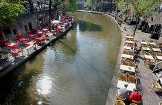 Outdoor Cafe Canal  Dick de Jong of Brandaris Placemarketing in the Netherlands.
