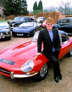 Elton John and his cars. www.classiccarclub.co.uk/thehub/