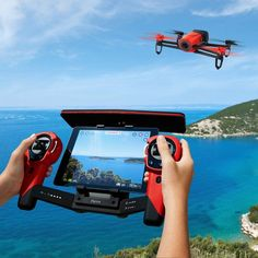 Parrot Bebop Drone.  The controller looks interesting, but I like how the screen is in the middle.