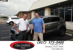 https://flic.kr/p/JyzS3Y | Congratulations Virg on your #Kia #Sportage from Jay Simons at Van Griffith Kia! | deliverymaxx.com/DealerReviews.aspx?DealerCode=PXVJ