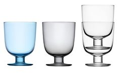luv these .. from Iitala .. Open-Shelf Living: The Ultimate Stackable Glasses : Remodelista