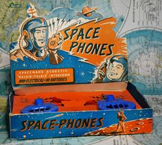 Back when the future was still young and optimistic - and so were we. ATTIC OF ASTOUNDING ARTIFACTS: Space-Phones (Selcol, 1950s)