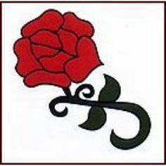 Rose Temporaray Tattoo ** Details can be found by clicking on the image. (This is an affiliate link) #TemporaryTattoos