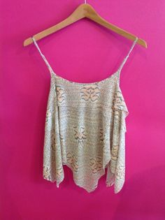 Free People printed cropped tank! Absolutely obsessed!