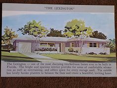 "Original Home Plan, ""The Lexington"""
