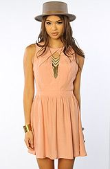 style stalker The Centerfold Dress in Dirty Nude  #MissKL #SpringtimeinParis