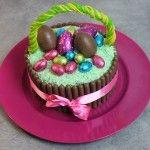 Gâteau de Pâques au chocolat Chocolate Easter Cake, Birthday Cake, Food, Easy Desert, Easter Pie, Schokolade, Birthday Cakes, Meals, Birthday Cookies