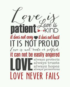 Love Is Patient Quote Fascinating Love Is Patient Love Is Kindfree Printable In 3 Color Options1