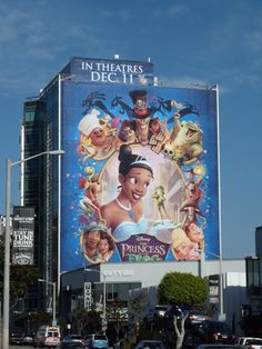 Disney's The Princess and the Frog movie billboards