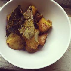Stir fry potatoes