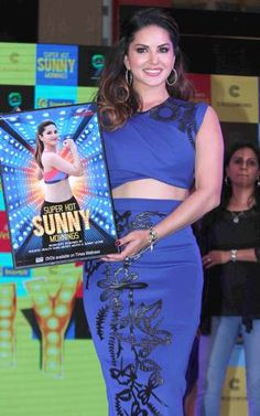 #SunnyLeone launches her own Fitness DVD