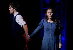 A new photo of Christopher Wood and Elizabeth Judd from the new tour of Spring Awakening! From this photo it definitely looks like they have that weird facing-away-from-each-other thing going on. Spring Awakening Musical, The Carrie Diaries, Chris Wood, Ohio Usa, Wife And Kids, Kid Movies, One And Only, American Actors, Supergirl