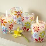 bright and funky #candles