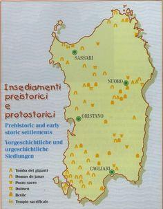 Sardinia - History of Sardinia Sardinia Italia, Travel General, My Land, Ancient Civilizations, Beautiful Islands, Geology, Archaeology, History, Places